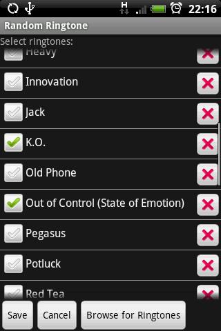 RRingtone Android Multimedia