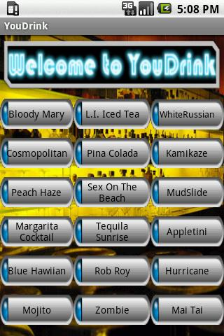 YouDrink Android Social