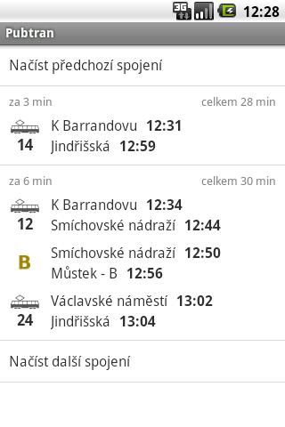 Pubtran Android Travel