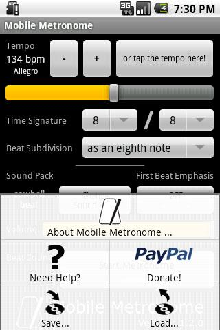 Mobile Metronome Android Multimedia