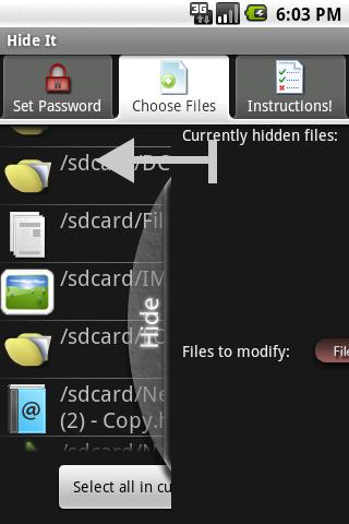 Hide It (Trial Version) Android Tools