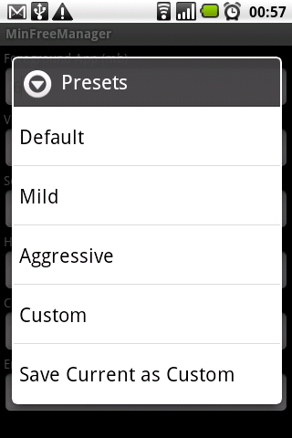 MinFreeManager Android Tools