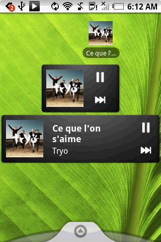 Pure music widget Android Media & Video