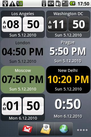 Digital World Clock Widget Android Travel best android apps free