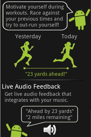 Racing for CardioTrainer Android Health