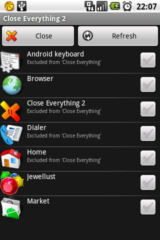 Close Everything 2 Android Tools