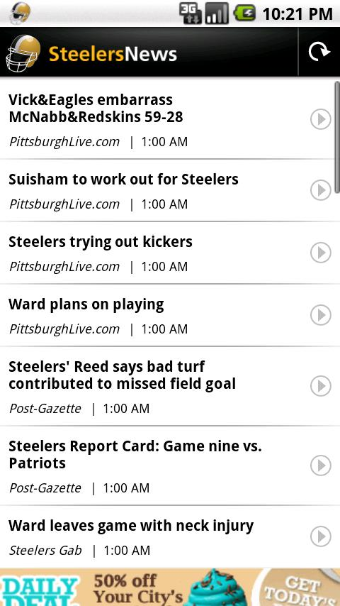 Steelers News Android Sports