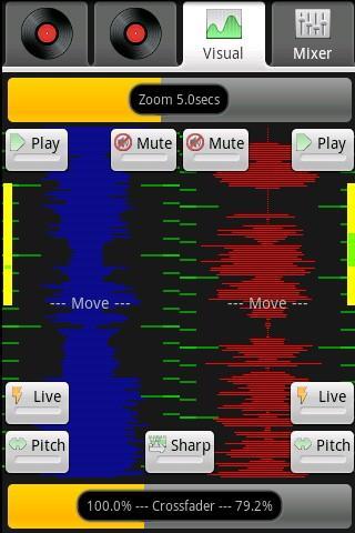 Droid DJ Lite Android Music & Audio