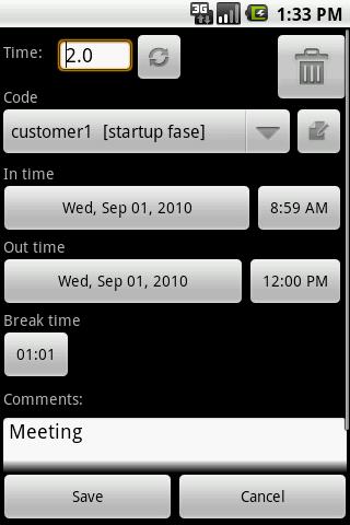 myTimeSheet Android Productivity