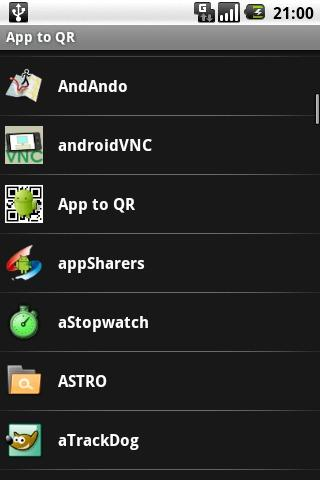 App to QR Android Tools