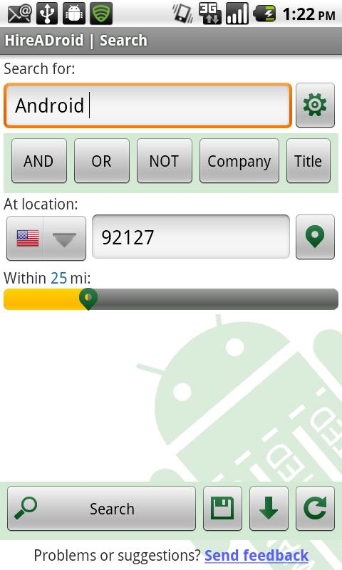 A Top Job Search Android Business