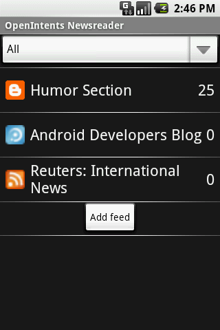 OI News Reader Android News & Weather