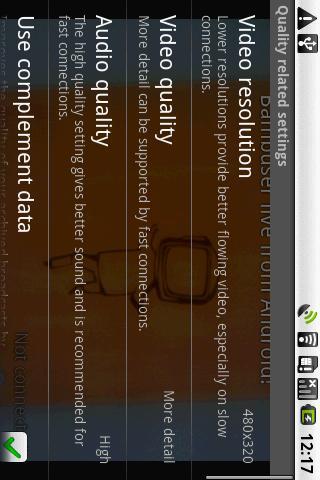 Bambuser Android Social
