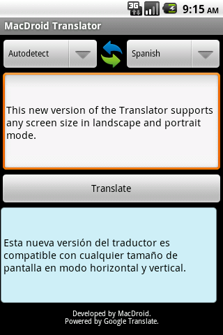 Renaixença Translator Android Travel