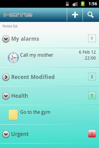Kote – Notepad Android Productivity