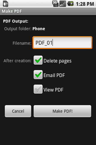 Scan2PDF Mobile Android Tools