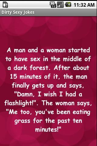 sex jokes