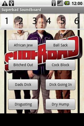 Superbad Soundboard Android Multimedia