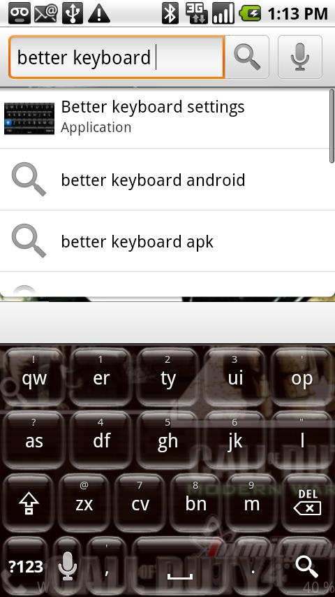 Better Keyboard – Glass Orb Android Entertainment