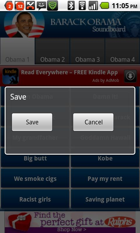 Obama Soundboard Android Entertainment