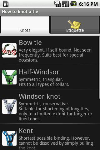 How to knot a tie Android Lifestyle