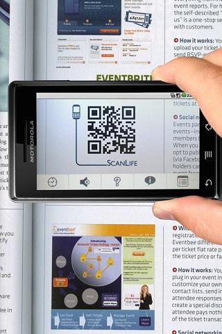 ScanLife Barcode Reader Android Shopping