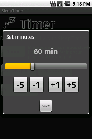 SleepTimer Android Media & Video