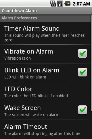 Countdown Alarm Android Tools