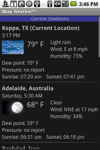 iMap Weather™ Android News & Weather