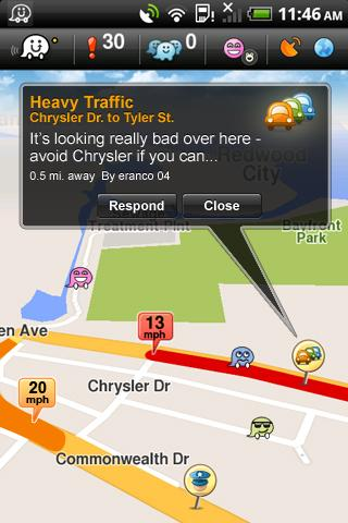 Waze: Community GPS navigation Android Travel