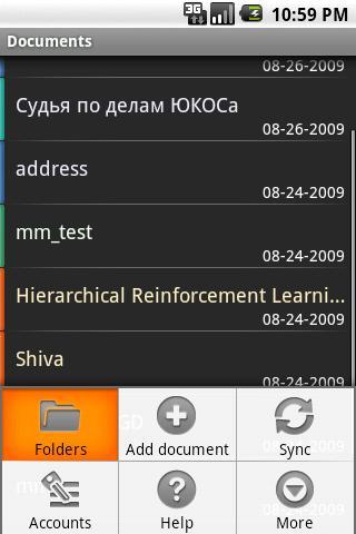 GDocs Android Productivity