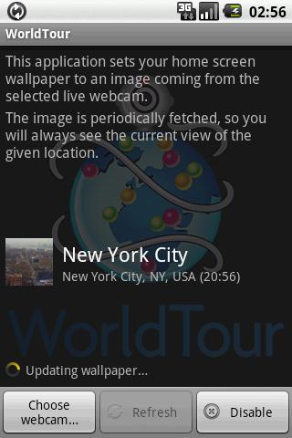 WorldTour Android Personalization