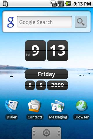Retro Clock Widget Android Tools