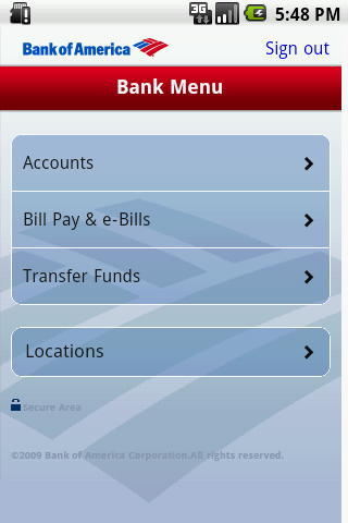 Mobile Banking Android Finance