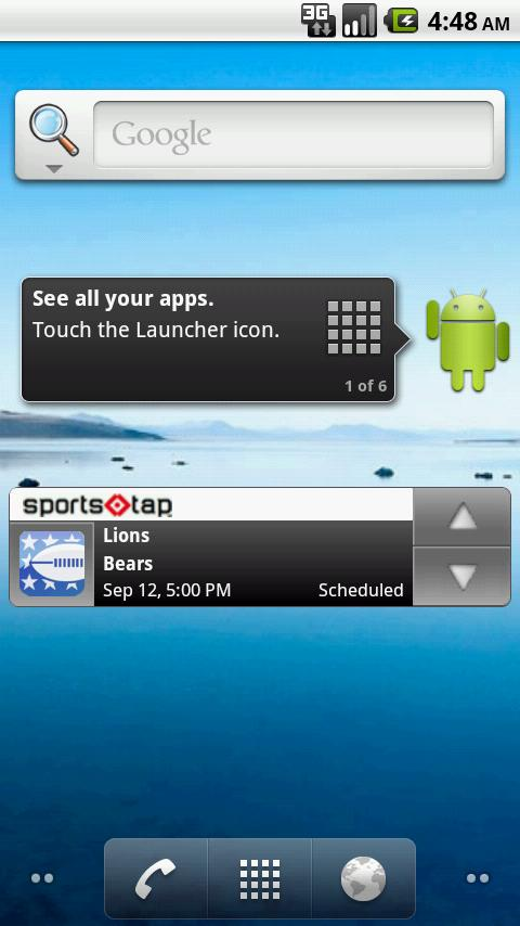 SportsTap Android Sports