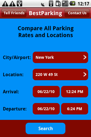 Find Parking – Compare Rates Android Travel & Local