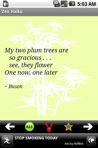 Zen Haiku Poems Android Social