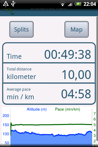 Time Runner Lite Android Health