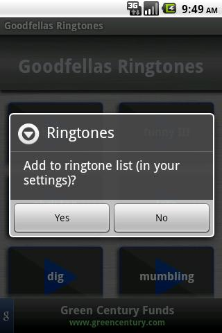 Goodfellas Ringtones Android Multimedia