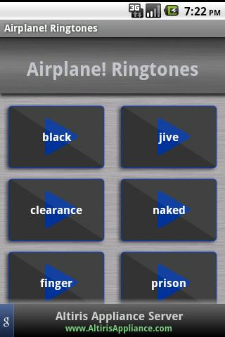 Airplane! Ringtones Android Multimedia