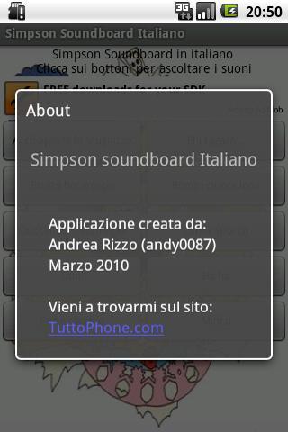 Simpson SoundBoard IT Android Multimedia