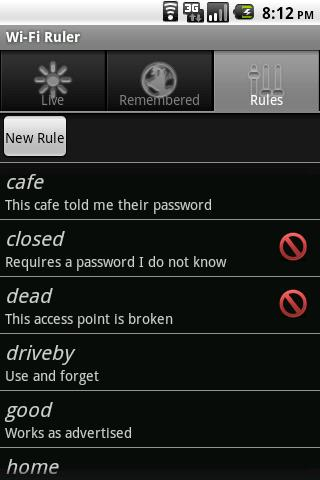 Wi-Fi Ruler (a Manager) Android Communication