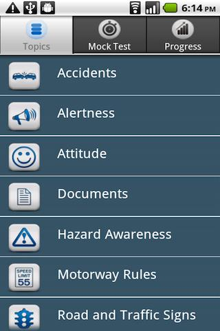 UK Driving Theory Test Lite Android Education