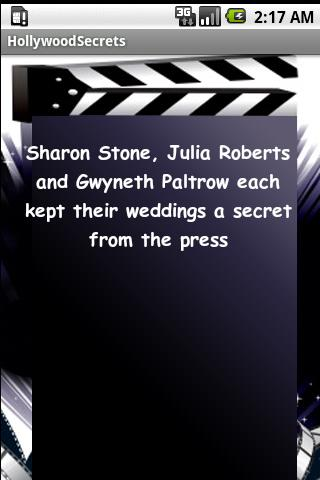 101 Hollywood Secrets Android Entertainment