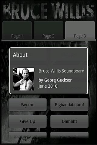 Bruce Willis Soundboard Android Entertainment