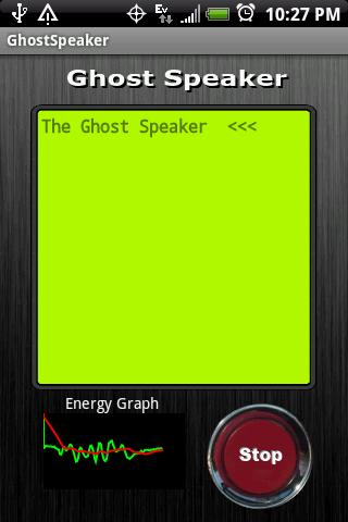 Ghost Speaker Android Entertainment