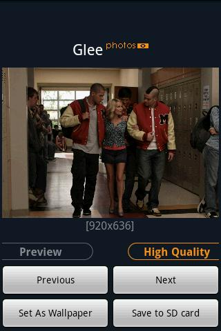 """Glee"" Fans Android Entertainment"