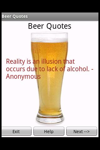 Beer Quotes 2010 Android Entertainment