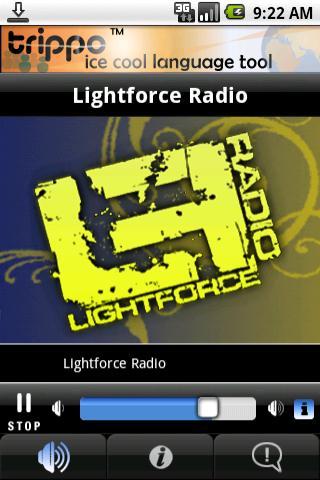 Lightforce Radio Android Entertainment