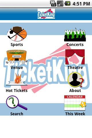 Ticket King Android Entertainment